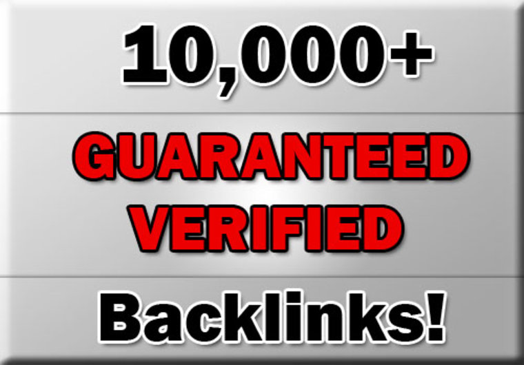 10,000 quality backlinks
