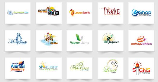 4 Unique Logo Designs
