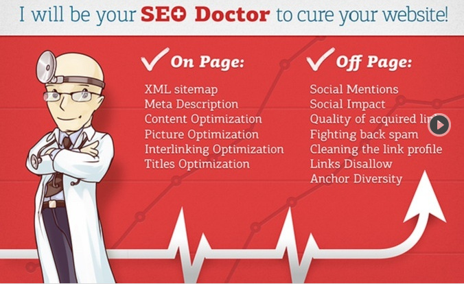 I will be SEO Doctor,  Rank Better with this seo Report