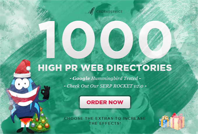submit your site to 1000 High PR web directories,
