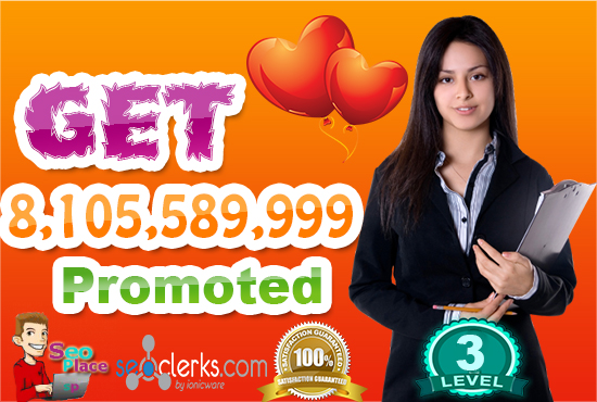 I will promote Your AnyThing to 8,105,589,999 Real facebook Members