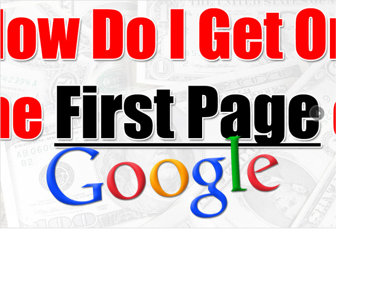 help You To Get your website on FIRST page of Google,  GUARANTEEd results