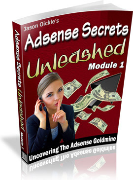 SECRET TO GET AT LEAST 100 / MONTH OF WITH GOOGLE ADS... eBook