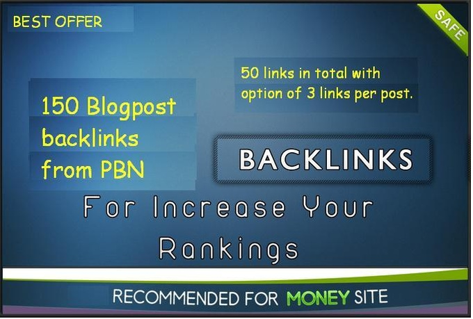 create 150 high quality blogpost links from large private blog network with PR