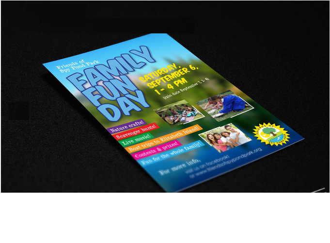 design professional looking POSTER for your event