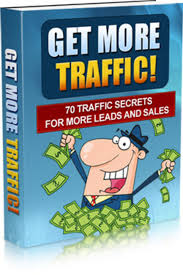 More Traffic on your Website, try 70 Traffic Guide