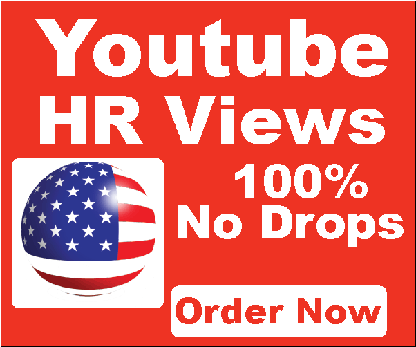 Get 50k HR USA You-tube Vi-ews 100% Non Drops