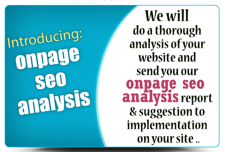 OnPage SEO Analysis & Optimization recomendation for better ranking in google