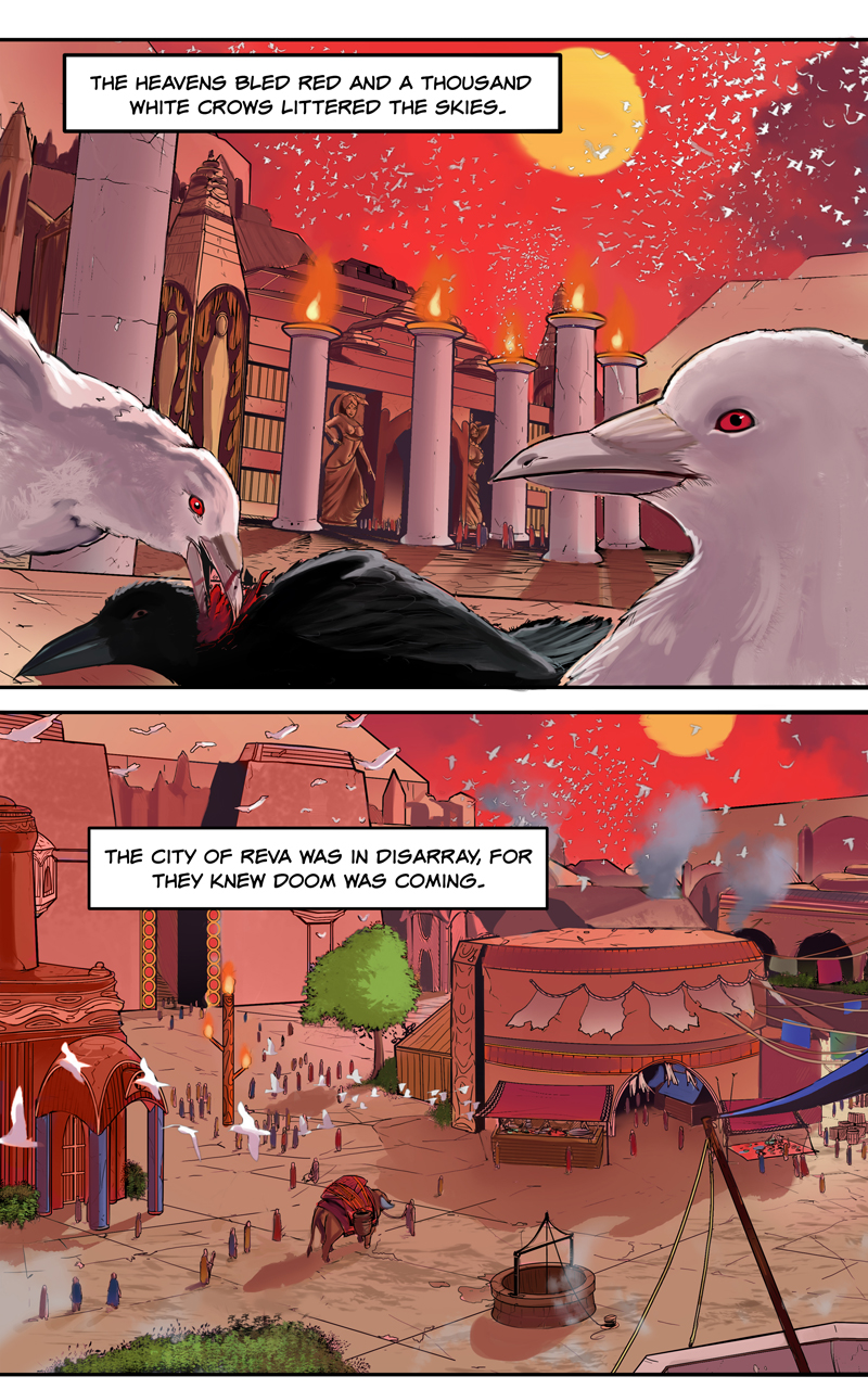 Create a comic page for your story