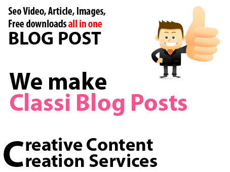 500 word unique seo article with animated video and images