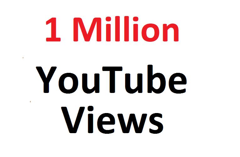 add 1 Million 1000K SAFE YouTube hits Guaranteed