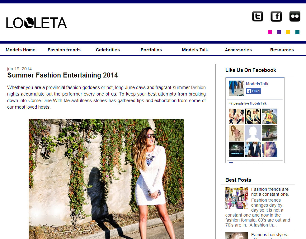 PR 2 Fashion Blog Available for Guest Post