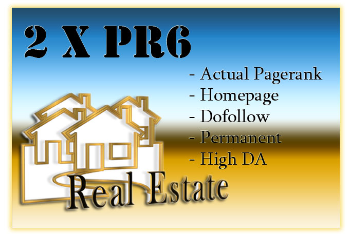 I'll sell Real Estate Permanent link 2xPR6
