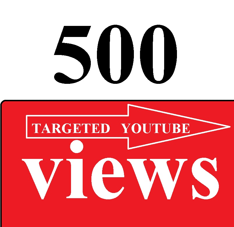 500 youtube views from any country BUY 2 GET 1 FREE