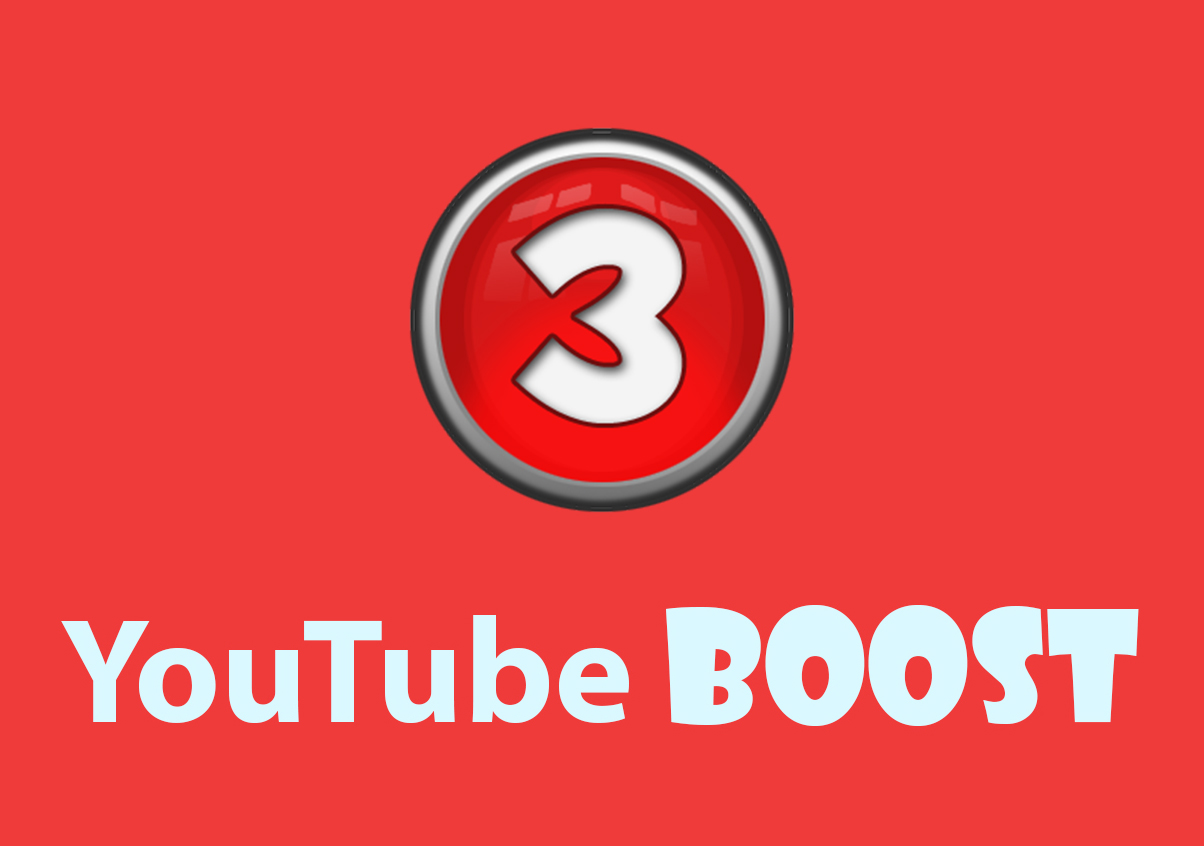 YouTube Boost - 3000 vie ws, 100 li kes, 50 subs, 40 fav and 5 comm