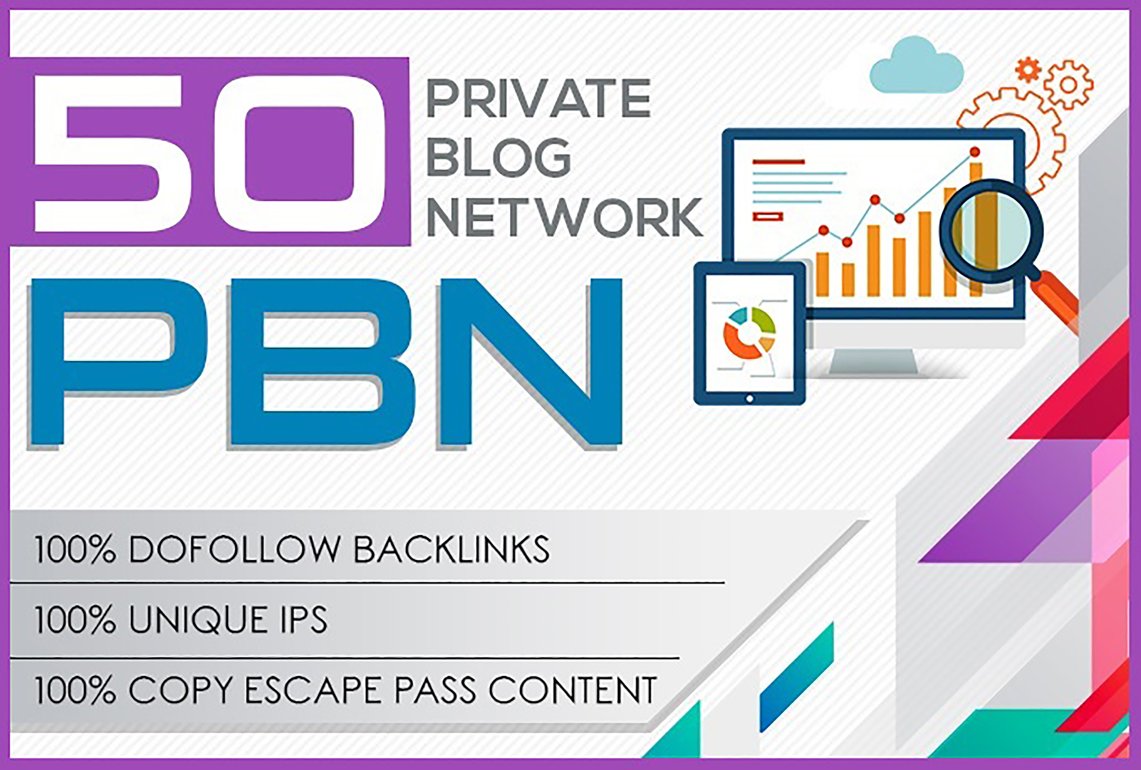 Build 50 POWERFUL Permanent PBN Contextual Backlinlks to your Money Site