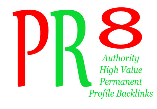 I will put your link on the homepage of my PR8 blog giving you massive link juice