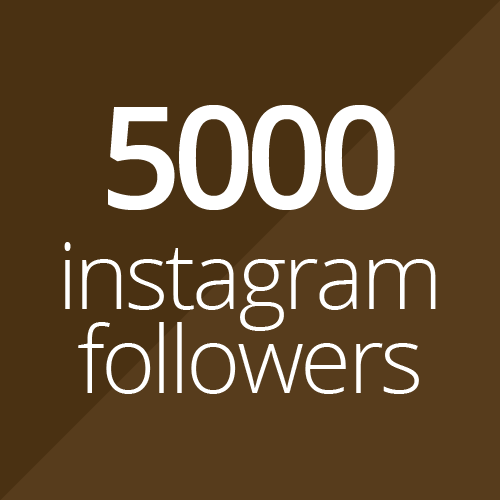 5000 Instagram followers