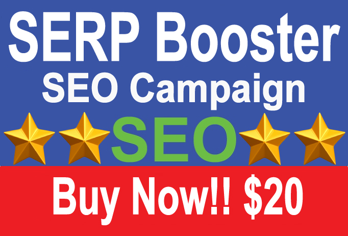 Google SERP Booster SEO Campaign