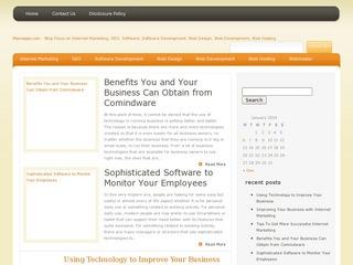 Miproapps webmaster site