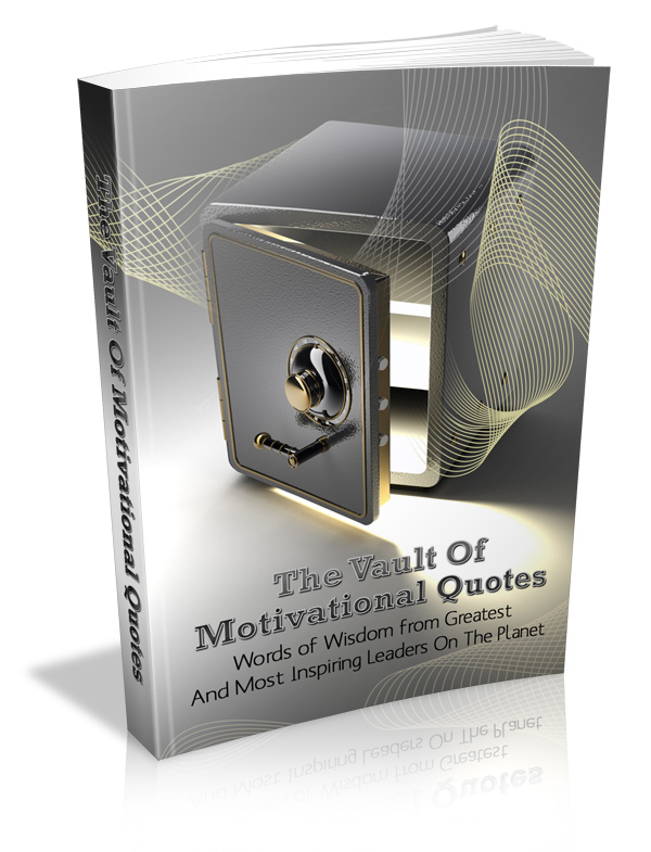 Vault of Motivational Quotes PLR eBook