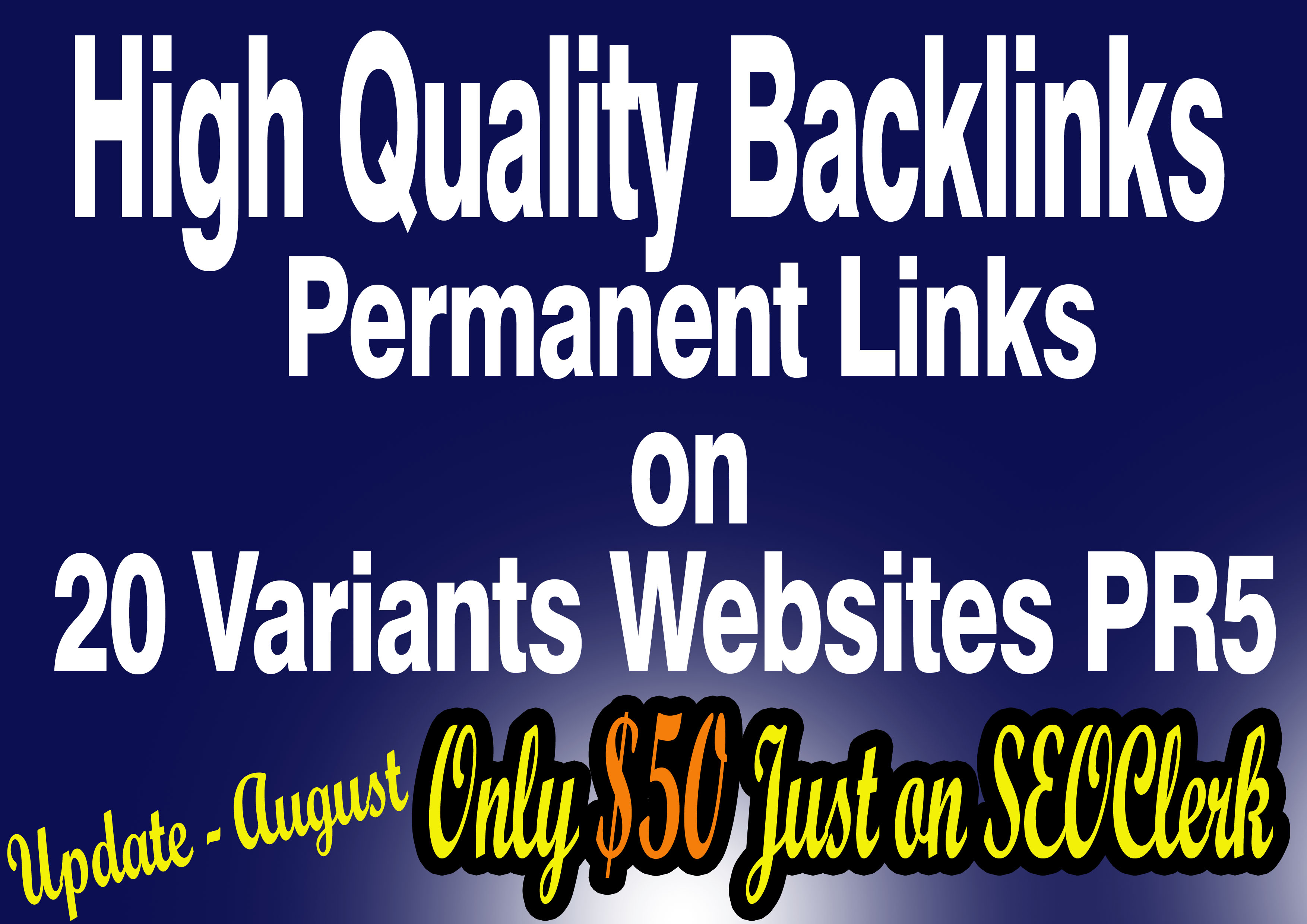 I will give you permanent blogroll link on 20 websites PR5