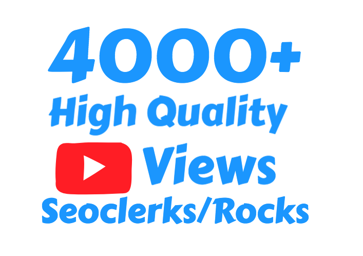 I will Add 4000+ Super Fast HR Youtube views