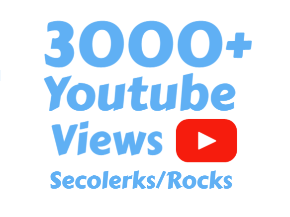I will Add 5000 to 5500+ High Quality You Tube vi'ews