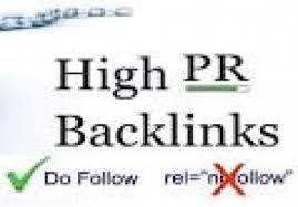 I will do 20 High PR, 1PR6 4PR5 5PR4 10PR3 blog comment backlinks in 24 hours