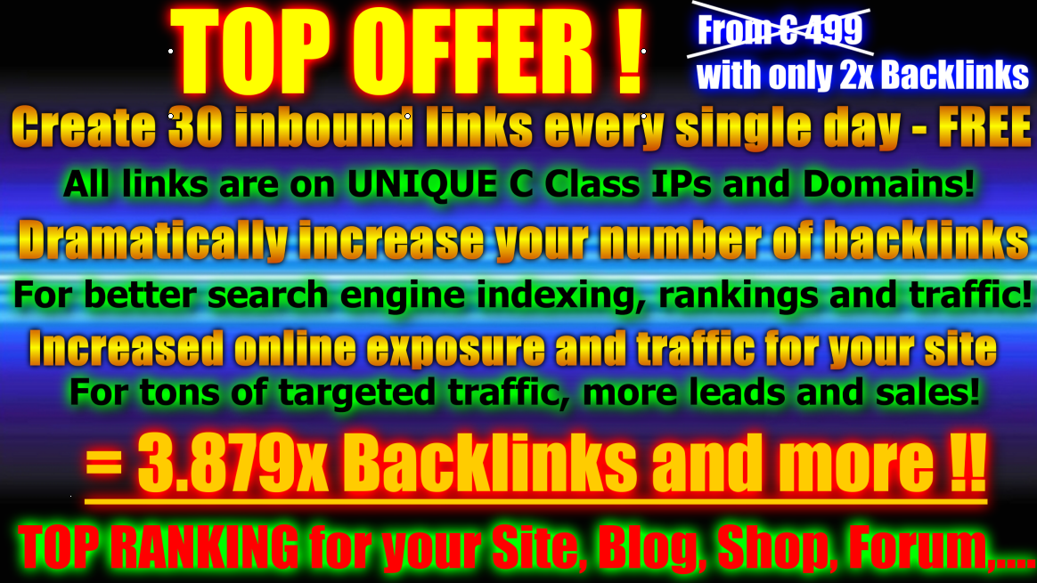 CREATE a 20000+ forum profile backlinks 500+ EDU wiki links of high pr all these links include 2000social book marks and 1500+edu links and 2500+gov links OF high pr 9-1
