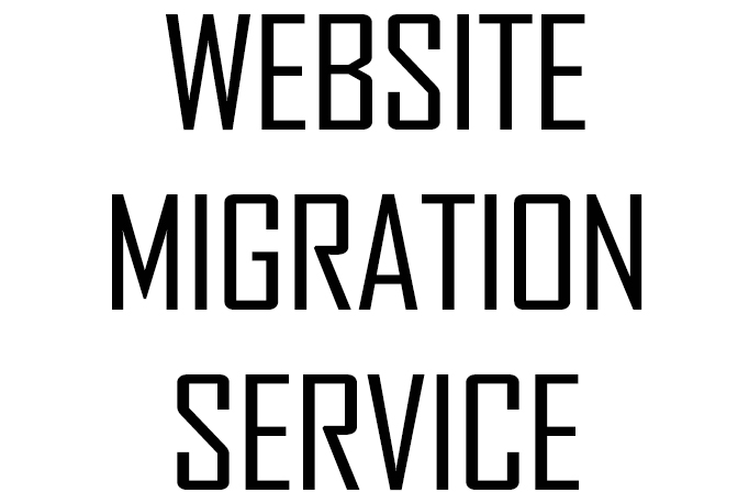Web migration and programming service