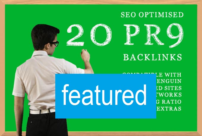 create you 20 PR9 backlinks , DOFOLLOW , Panda and Penguin safe , seo optimised###