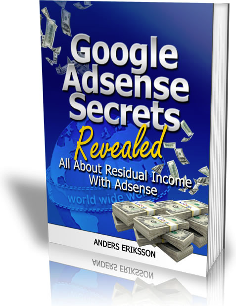 Google Adsense Secrets Revealed eBook