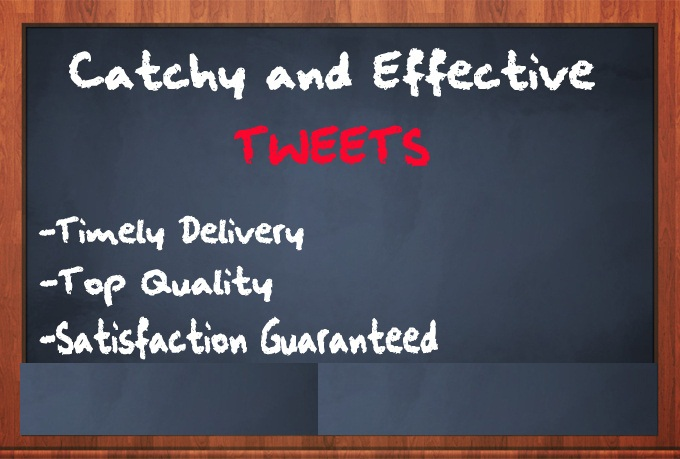 write the Best and highly effective Tweets to pre sell