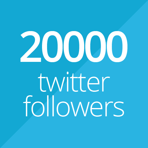20000 followers