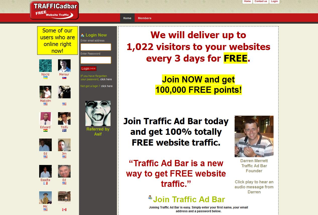 Traffic Ad Bar Hits Booster 5000