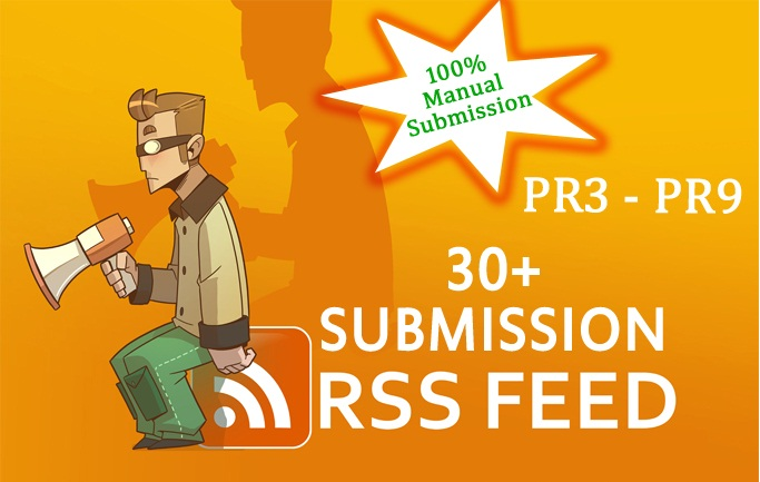 I will submit your Rss feed to over 20+ Rss directories PR3 to PR9