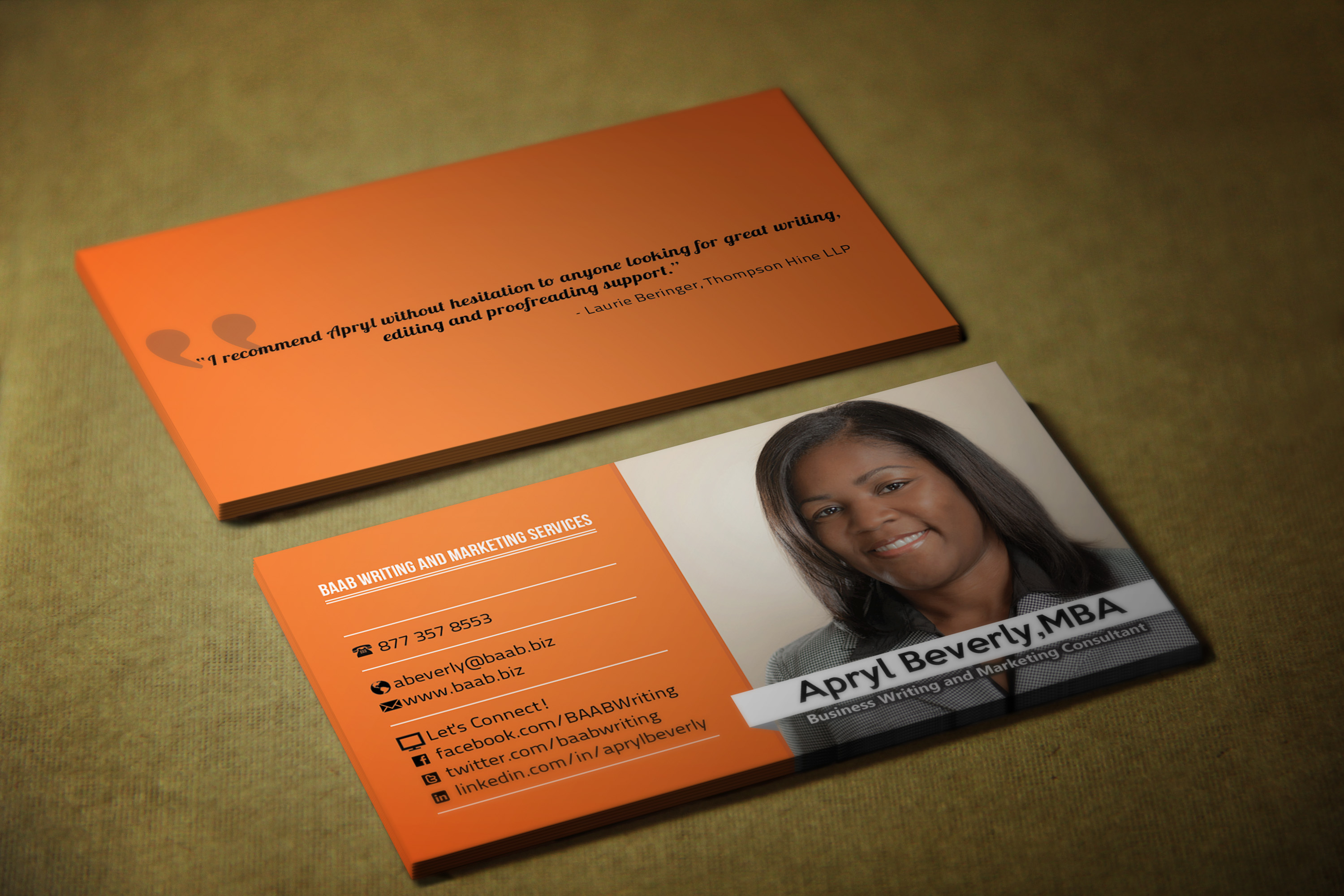 I will make stylish and professional BUSINESS card for