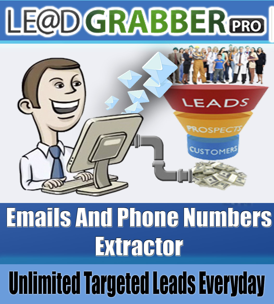 LeadGrabber 4.0-Extract Targeted Emails From Any Site