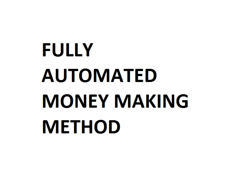 Automated money earning guide