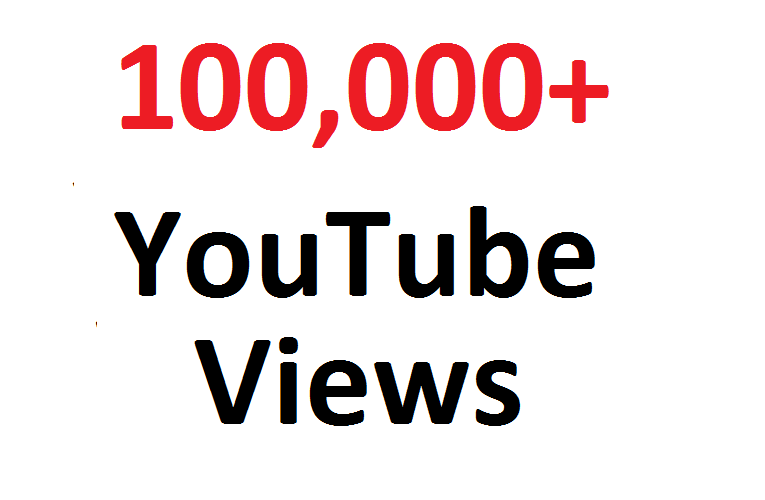 add 100000 100K SAFE YouTube views Guaranteed