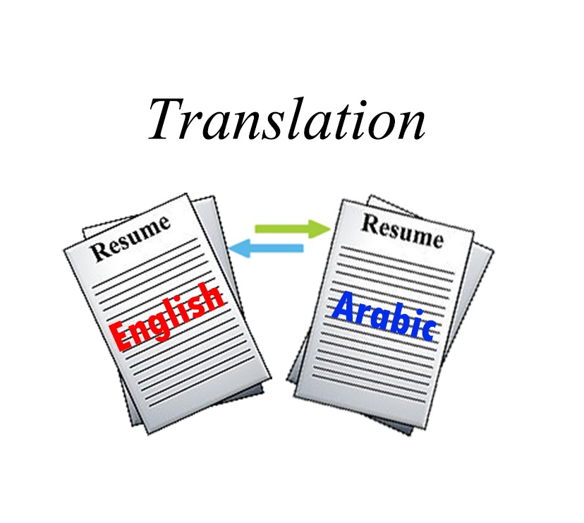 translate your cv resume email from english to arabic for  10