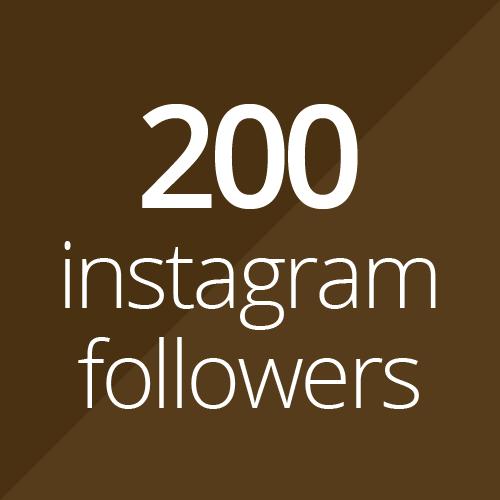 200 Instagram followers