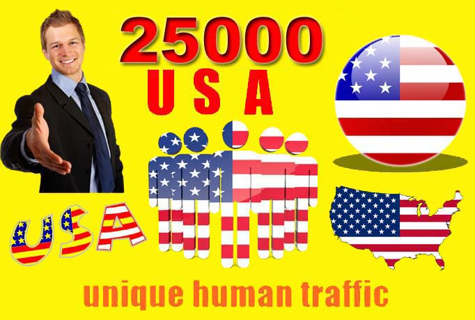 provide 25000 VERIFIED Website Real Human Visitors