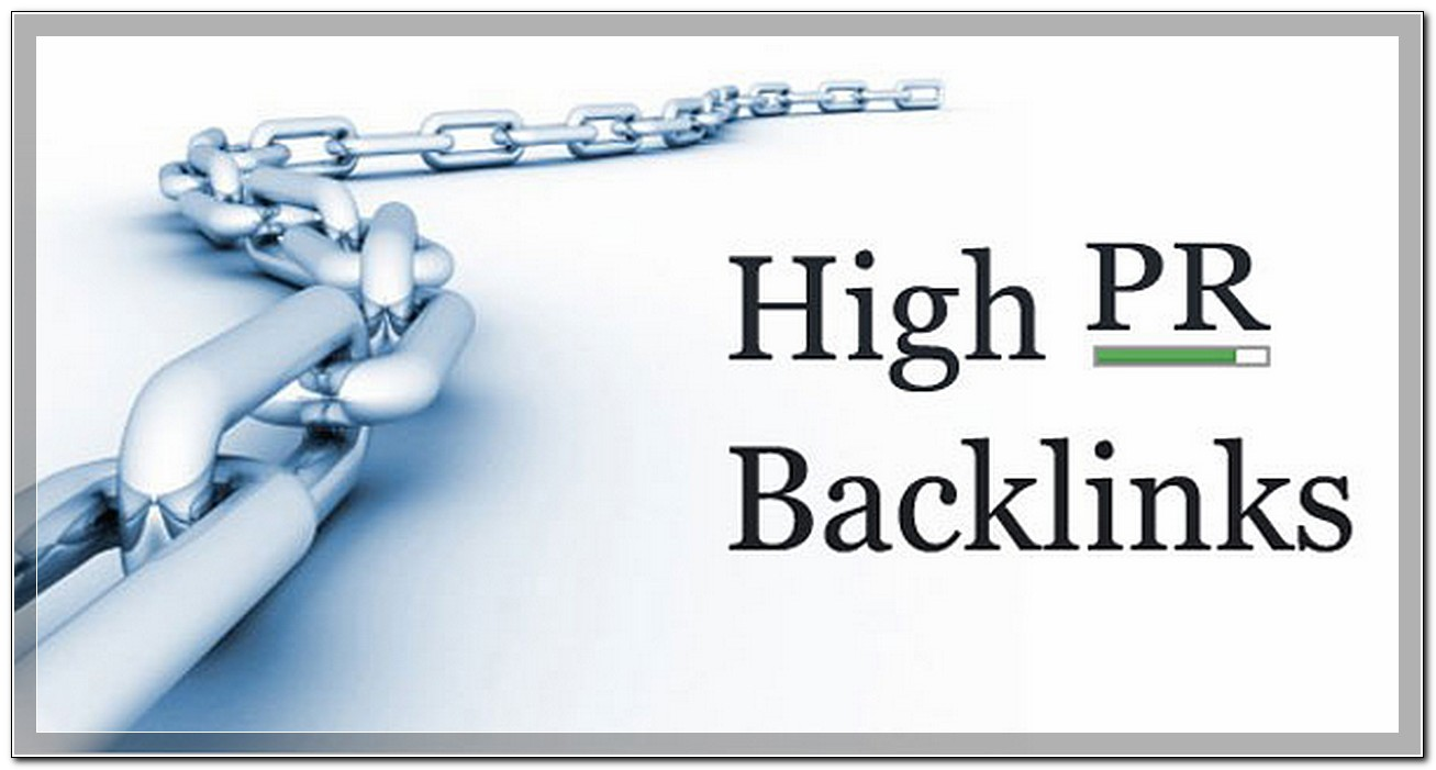100 PR1 - PR4 relevant backlinks in 6 months