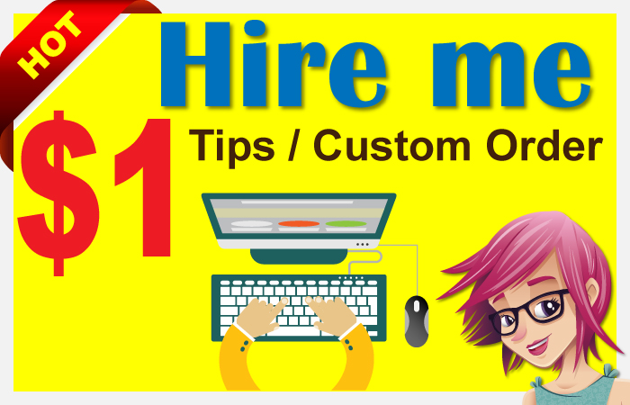 Virtual Assistant custom order or tip