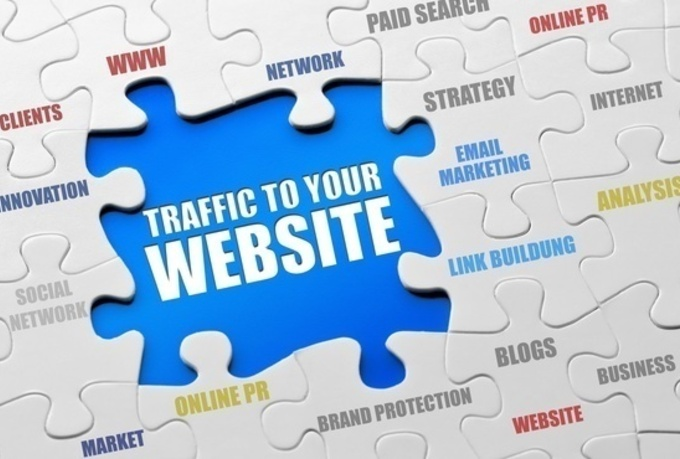 drive 20,000 targeted genuine real traffic to your website