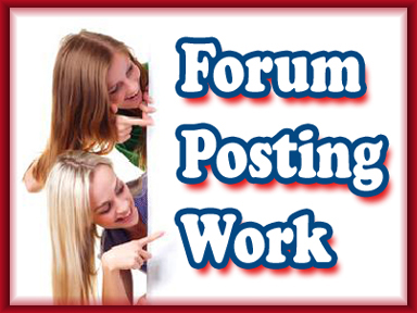 I will write 50 top quality, all manual forum posts
