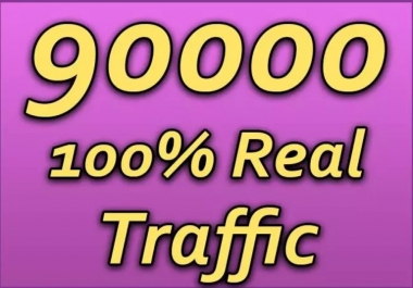 DRIVE 90,000 SUPER TARGETED WEBSITE TRAFFIC, Fast Delivery