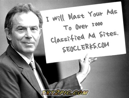 I Will Blast Your Ads To Over 500 Classified Ad Sites